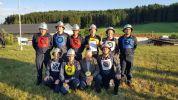 Die Bewehrbsgruppe mit Vzbgm Karl Eichinger als erstem Gratulanten